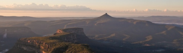 Wordpress panorama Misty Mountains